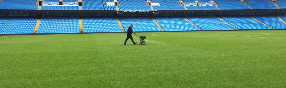 How do they get the Etihad and Old Trafford pitches perfect after a summer of gigs?